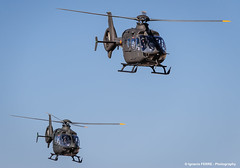 EC-135 pair (Ignacio Ferre) Tags: airplane nikon aircraft aviation military helicopter takeoff avin helicptero eurocopter ec135 spanisharmy famet lecv