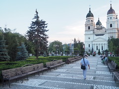 Travel to Iai in Romania (Creativelena) Tags: park city travel summer art heritage history church nature bar shopping theater religion culture romania iasi