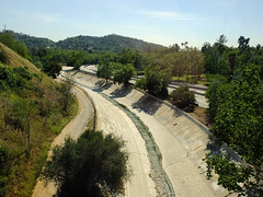 Arroyo Seco (sirgious) Tags: creek concrete losangeles metro freeway highlandpark channel goldline arroyoseco i110