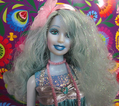 010 (Alrunia) Tags: 2003 pink blue cute glitter toy doll dolls purple handmade ooak barbie kitsch sparkle fairy fairies fashiondoll mattel fairytopia restyle 16thscale playscale playline barbiefairy sparklefairy sparklepinkfairy sparklebluefairy sparklepurplefairy
