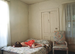 (yyellowbird) Tags: house selfportrait abandoned girl bedroom florida lolita cari