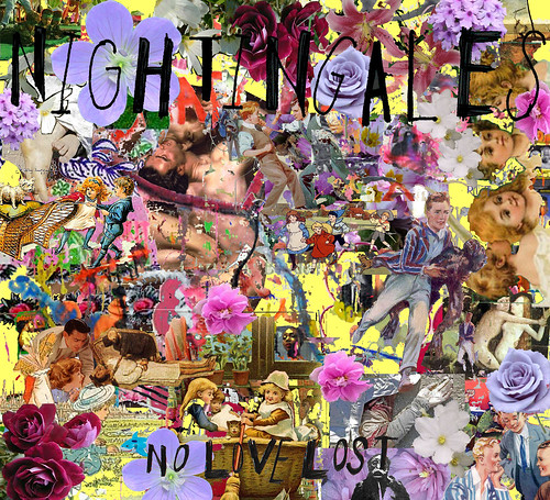 Nightingales - No Love Lost (album cover)