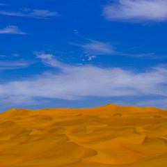 Dunes In Ubari libyan desert, Libya (Eric Lafforgue) Tags: a0014379 dune color tranquilscene nobody lansdscape awbari colourpicture colorpicture fezzan adventure desert day sanddune saharadesert scenics colorimage photography travel northafrica nopeople tradition tranquility oneperson idyllic physicalgeography nature sky outdoors outside clouds culture landscape sand lybiandesert sahara ummalmaa africa libya bluesky horizontal ramlatadduada libia   lbia libi lbija libija  lby  libja lbya libye libyen liiba libiya  liviya  livi    ribia
