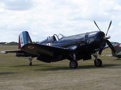 Chance Vought F4U-7 Corsair - 1 (NickJ 1972) Tags: aviation airshow duxford corsair chance 2010 cielito iwm f4u vought flyinglegends fazys 133704 14f6