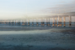 MB 01 (Kate Dreyer) Tags: motion blur beach mystery sunrise landscape seaside ghost australia melbourne victoria ghostly altona