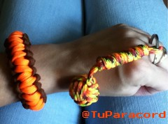 Elena y su oak river back (TuParacord) Tags: river monkey fist elena paracord monkeyfist tuparacordstore tuparacord