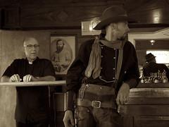 the cowboy and the priest (The Cassandra Project) Tags: digital schweiz switzerland suiza swiss country luzern event western svizzera lucerne reportage sveitsi countryfest kantonluzern d3s meierskappel