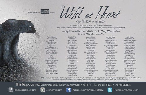 Wild at Heart group show @ Thinkspace Gallery