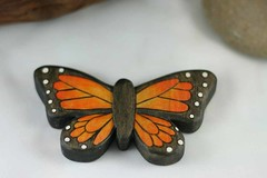 Wooden Toy Monarch Butterfly (kris10dale) Tags: