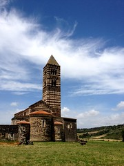 Basilica di Saccargia (Rob Emes) Tags: cloud church clouds sardinia basilica romanesque