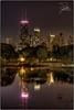 Lincoln Park (Frank Kehren) Tags: lake chicago reflection night canon illinois unitedstates explore f11 hdr 24105 johnhancocktower southpond canonef24105mmf4lis ef24105mmf4lis canoneos5dmarkii northstocktondrive