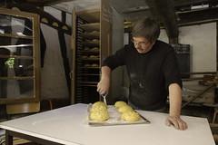 Sculpture des brioches (zigazou76) Tags: sculpture four pain rouen esplanade brioche banal boulangerie chs 2012 ciseaux expotec sainthonoré pannevert jeanpierreengelhard centredhistoiresociale