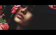 Dearly Beloved (Bhumika.B) Tags: flowers art love leaves canon photo lips beloved dearly