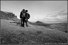 Kiss in the clouds (Pikebubbles) Tags: bw cold skye clouds scotland high kiss isleofskye romance davidgilliver