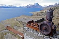 On top of the Helgustadanáma mine