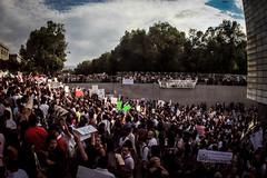 La #MarchaYoSoy132 (GabrielRendon) Tags: gabriel mxico df salinas jvenes pri 131 tvazteca paseodelareforma ibero ciudaddemxico protestas televisa universitarios primeramarcha eleccionespresidenciales rendn elbaesther azcrraga peanieto yosoy132 marchayosoy132 democratizacindelosmedios