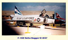 04 - Convair F-102A Delta Dagger (56-1247)  - Over 1000 Views (Sarge-Jack) Tags: f102 bruntingthorpe f102deltadagger rafbruntingthorpe rafbruntingthorpe1960airshow