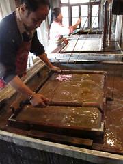 Darjeeling  Paper Making  IMG_1738a (Andra Nelki) Tags: work skills labour handmadepaper buddhistpapermaking