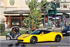 Black & Yellow (G-E Supercars) Tags: black cars sport yellow grey italia martin top f1 ferrari monaco full porsche lp carlo monte gt 700 marques lamborghini luxe aston gp 2012 carrera vantage supercars v12 458 aventador amv12