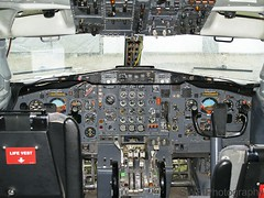 B727 Cockpit (SWF Photography) Tags: aviation airplanes cockpit boeing boeing727 727200 boeing727cockpit
