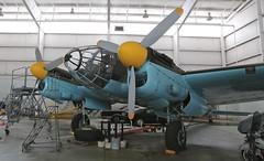 HE-111 (Bill Jacomet) Tags: museum casa dallas airport texas wwii flight german ww2 addison bomber warbird warplane 2012 cavanaugh 2111 he111