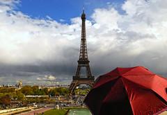 Eiffel Tower (Lingzhi WU) Tags: paris france architecture umbrella eiffeltower toureiffel parapluit lingzhiwu