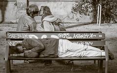 Life / La vida (Dani Alcal Mund) Tags: street bench banco
