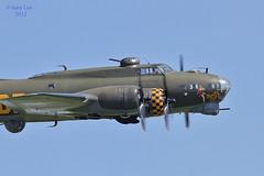 Boeing B17  Sally B (Meliss&Gary, (Gary Cox)) Tags: sky sun aircraft aviation b17 legends cox duxford gary boeing usaf airshows iwm