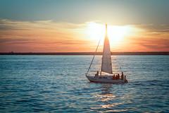Яхта (Anton Novojilov) Tags: sunset sea yacht ukraine море севастополь