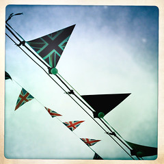Jubilee (jackstocky) Tags: uk england sky london english june mobile jack phone jubilee united union great kingdom flags queen diamond celebration british britian 60th 2012 bunting iphone diamondjubilee hipsta ringexcellence gettyjubileesun