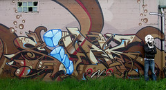 SILAK by KALEES NOK (kalees one) Tags: paris france graffiti burger nok krew silak kalis kalees