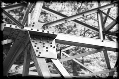Power Geometry (Orbittrap) Tags: blackandwhite white black metal photography photo bc power geometry britishcolumbia picture hydro stavelake d90 blackandwhitephotos hydroelectricity stavedam