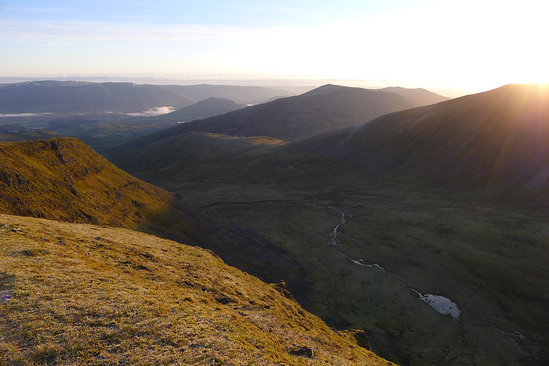 Coire Gorm at Sunrise