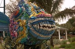 Trash-Sculpture Fish 2