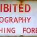 Photography and Sketching Prohibited
