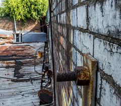 Nut Rust (darkday.) Tags: urban building brick abandoned rooftop danger dangerous rust decay australia brisbane explore urbanexploration qld queensland exploration milf urbex abando skatearena easyentry