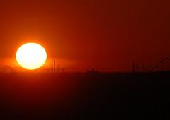 Sunset Over Canada's Wonderland (scott3eh) Tags: sunset canada wonderland