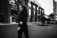black edition (Mila Stepanova) Tags: street portrait people fashion 35mm canon young 6d wethepeople