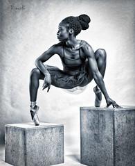 I'm a living work of art, Please don't put me on a Pedestal (Scattered-pixels) Tags: ballet studio dance