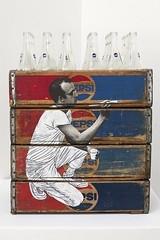 """"""" Haring Paints on Pepsi Crates"""" 2014 by P.S / Pop Art (lalek72.popart) Tags: art popart popartculture pakpoomsilaphan haringpaintsonpepsicrates"""