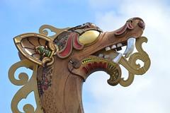 Dragon Head (DSC_7494) (AngusInShetland) Tags: water waterfront viking shetland lerwick galley longship haugesund harfagre haraldharfagre albertwharf drakenharaldharfagre drakenharald