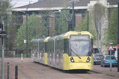 3081 (Alex Drennan) Tags: salfordquays metrolink