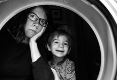 264/365 - Laundry Day (kate.millerwilson) Tags: selfportrait mom toddler housework laundry washingmachine myeverydaylife strobist nikond7100