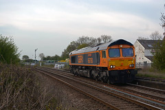 66750 0L15 toton to whitemoor passing ashwell (I.Wright Photography over 2 million views thanks) Tags: passing ashwell toton whitemoor 66750 0l15