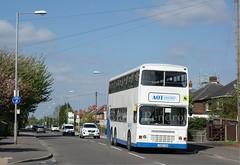 AOT Coaches, Dennis Dragon, Watnall Road, Hucknall (Lady Wulfrun) Tags: nottingham bus contract schools aot megabus notts hucknall dennisdragon watnallroad l392lna aotcoaches stagecaoches