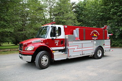 Lake Cowichan Tender 2 (bcfiretrucks) Tags: 2 lake canada vancouver truck island fire bc fort columbia canadian vehicle british emergency m2 tender tanker garry cowichan marked freightliner