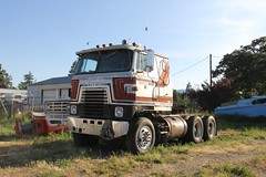 IH Transtar II (RyanP77) Tags: cabover transtar astro internationaltruck gmc semi classic oregon tractor trailer big rig