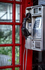 19/52: Sylvia's mother said... (judi may) Tags: old windows red interiors dof phone interior telephone keypad cambridgeshire telephonebox phonebox redtelephonebox buckden project52 canon7d