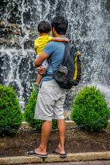 father and son (obypix) Tags: people kids flikr