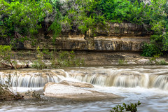 148/365.2016 Bull Creek (OscarAmos) Tags: water austin waterfall texas hdr lightroom ndfilter flowingwater 18200mm photomatix tonemapped detailenhancer topazadjust project3652016 nikond7200 oscaramosphotography